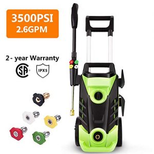 Homdox 3500 PSI Power Washer Electric Pressure Washer 2.6 GPM