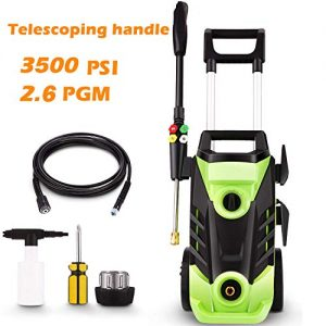 3500 PSI Electric Pressure Washer, 1800W Power Washer
