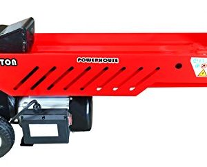 Powerhouse Log Splitters Ton Electric Hydraulic Horizontal Log Splitter