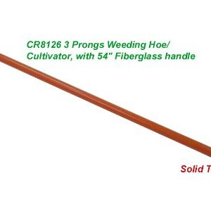 Forgecraft USA Weeding Hoe with 3 Prong Cultivator