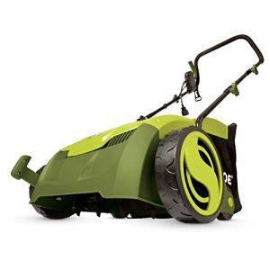 "Sun Joe 12 Amp 12.6"" Electric Scarifier Plus Lawn Dethatcher"