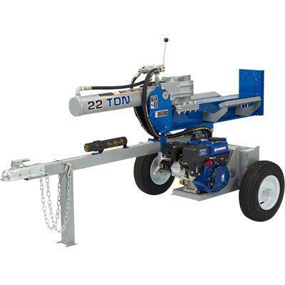 Powerhorse Horizontal/Vertical Log Splitter-22 Tons