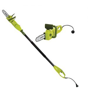 Sun Joe 8-Inch 8.0 Amp 2-in-1 Convertible Pole Chain Saw