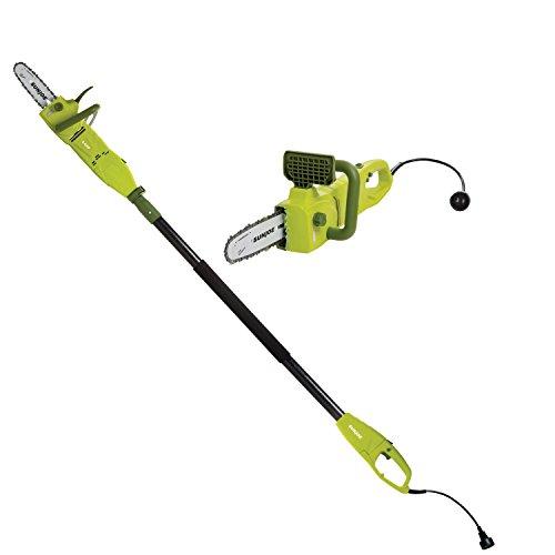 Sun Joe 8-Inch 8.0 Amp 2-in-1 Convertible Pole Chain Saw