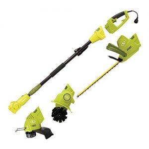 Sun Joe Lawn + Garden Multi-Tool Care System, Green