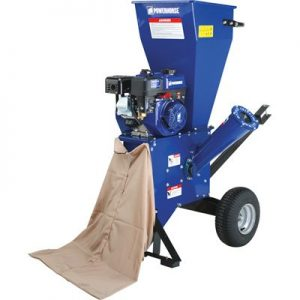 Powerhorse Chipper/Shredder - OHV Engine, 3in. Capacity