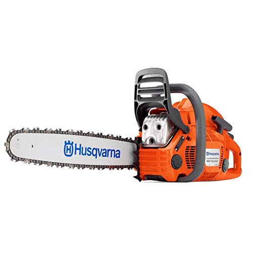 Husqvarna 24 Inch Rancher Gas Chainsaw with 2 Cycle Oil