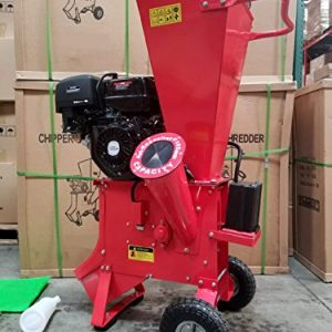 Wood Chipper Cutter Leaf Mulcher Shredder 4 Inch Capacity