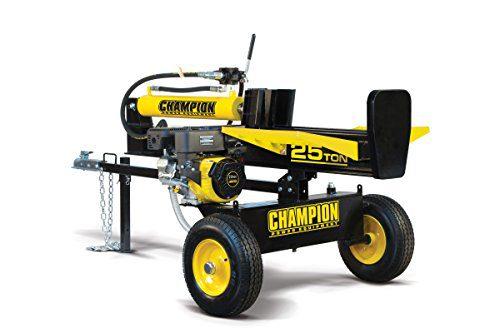 Champion 25-Ton Horizontal/Vertical Full Beam Gas Log Splitter