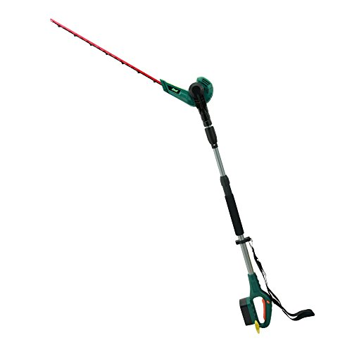 EAST 20V Li-ion Cordless 2 in 1 Pole Hedge Trimmer with Rotating Handle