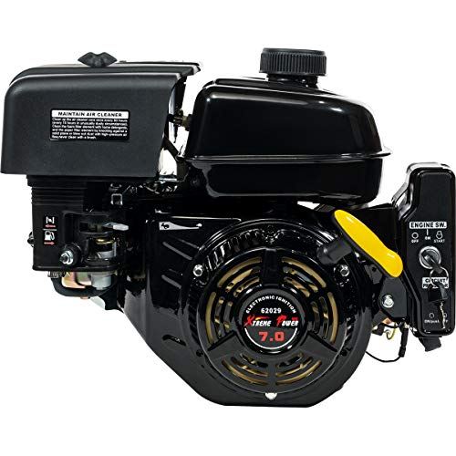 XtremepowerUS Electric Start 7 HP Go Kart Log Splitter Recoil/Electric Start Engine