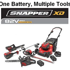 Snapper XD 82V MAX Dual Action Electric Cordless 26-Inch Hedge Trimmer