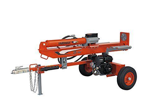 YARDMAX Ton Full Beam Gas Log Splitter, 4-Way Wedge