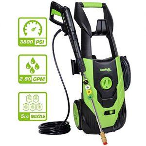 PowRyte Elite 3800 PSI 2.80 GPM Electric Pressure Washer
