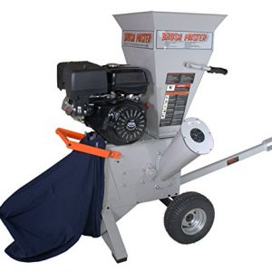 "Brush Master 270cc 3"" Feed Commercial Duty Chromium Chipper Shredder"
