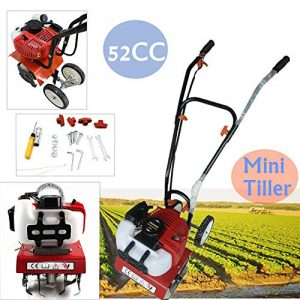 NOPTEG 52cc 2 Strok Mini Tiller Garden Cultivator