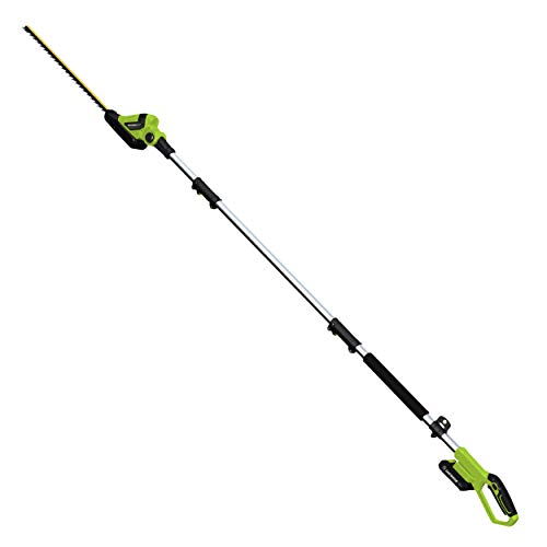 Earthwise Volt 20-Inch Cordless Pole Hedge Trimmer
