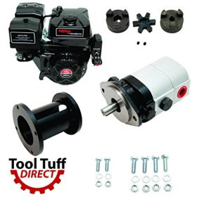 Tool Tuff Log Splitter Build Kit - 15 hp Electric-Start Engine