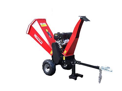15HP Gasoline Powered Wood Chipper Shredder Mulcher