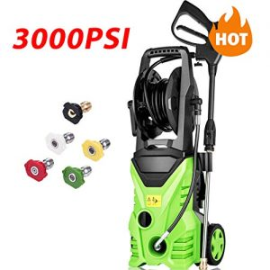 Homdox 3000 PSI Electric Pressure Washer, 1800W Power Washer