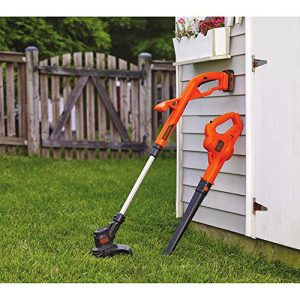 BLACK+DECKER 20V MAX Lithium String Trimmer/Edger Plus Sweeper Combo Kit