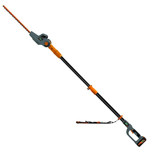 Scotts Outdoor Power Tools 24-Volt 17-Inch Cordless Pole Hedge Trimmer