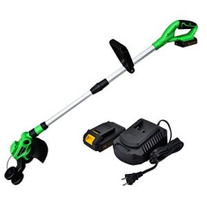Uniteco Cordless String Trimmer 20V Lawn Edger with 2.0Ah Platform Battery