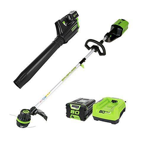 Greenworks PRO 80V Cordless Brushless String Trimmer + Blower Combo
