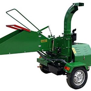 Diesel 22 HP Wood Chipper Cutter Leaf Mulcher Shredder 6 Inch Capacity