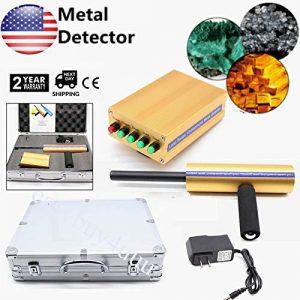 AKS Handheld Metal Detector 12V 1000-1600mAh Gold Silver Copper