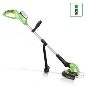 SereneLife Cordless Trimmer Weed Whacker - Electric Grass Edger