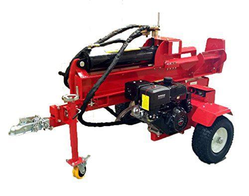 Samson Machinery 50 Ton 15HP Gas Powered 18GPM Hydraulic Log Wood