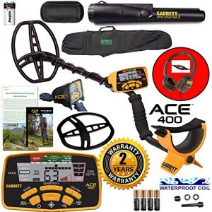 Garrett ACE 400 Metal Detector with Waterproof Coil Pro-Pointer