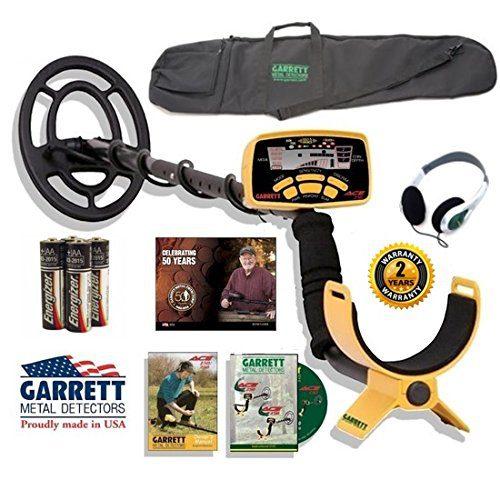 Garrett Ace Sportsman Package with Detector Carry Bag Plus Headphones