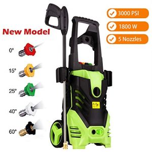 Zolko 3000 PSI Electric High Pressure Washer, 1800W Professional Power Washer