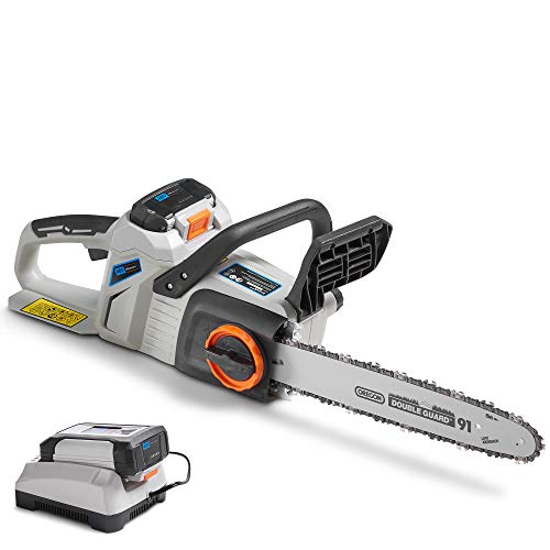 VonHaus 14 Inch 40V Max Cordless Chainsaw with Brushless Motor
