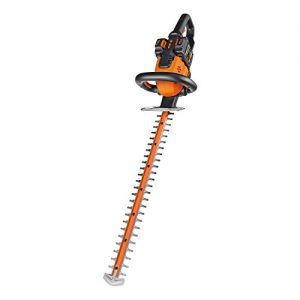 Cordless Hedge Trimmer, 1 hr. Dual Charger and 2 Batteries Included