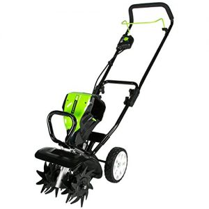 "GreenWorks 80V 10"" Power Tiller/Cultivator, Battery Not Included"