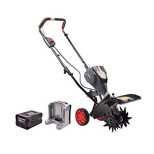 Powerworks 60V Brushless Tiller, 2.5Ah Battery and Charger Included