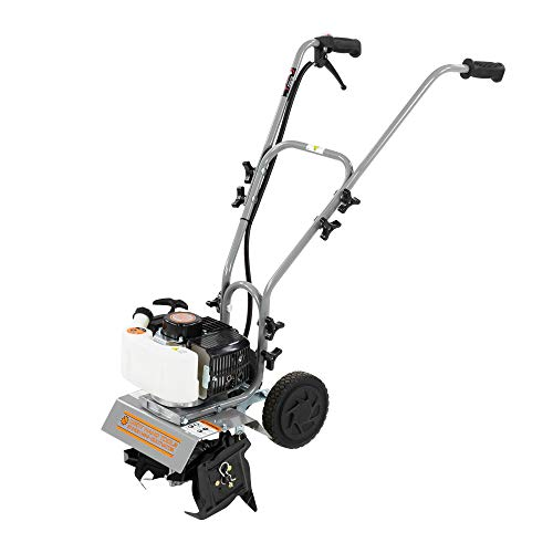 Dirty Hand Tools | 10-Inch 2-Cycle Mini Cultivator/Tiller