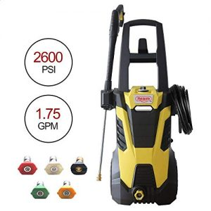 ENSTVER Electric Power Washer, 2100PSI 1 8 GPM Pressure