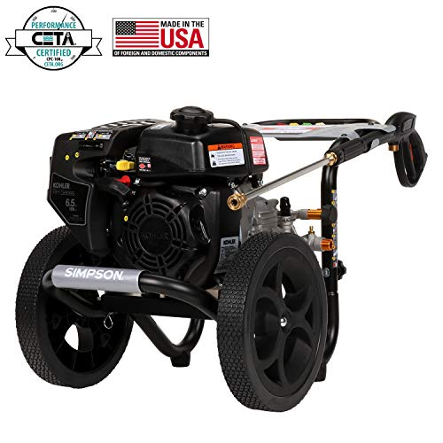 SIMPSON Cleaning MegaShot Gas Pressure Washer Powered