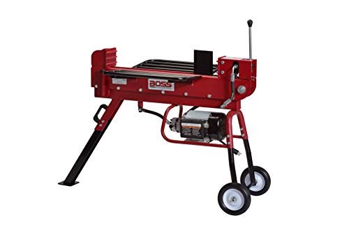 Boss Industrial Industrial Electric Log Splitter, 10-Ton