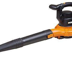 WORX WG518 12 Amp 2-Speed Leaf Blower, Mulcher & Vacuum