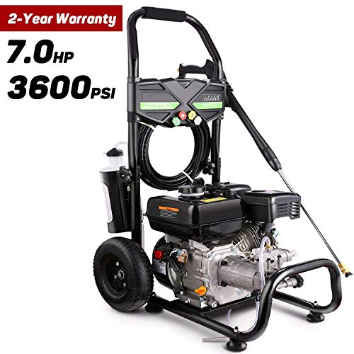 Miyoeris 3600PSI 212CC Gas Pressure Washer