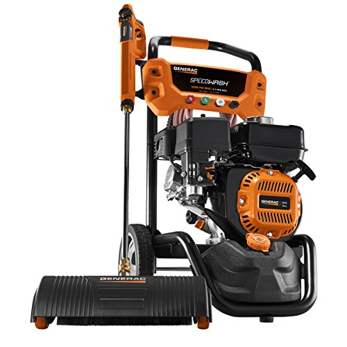 3200 PSI 2.7 GPM 196cc Gas Powered Pressure Washer System