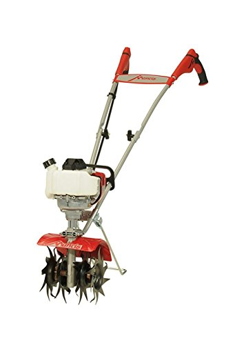 Schiller Grounds Care Mantis 4-Cycle Tiller Cultivator Powered by Honda