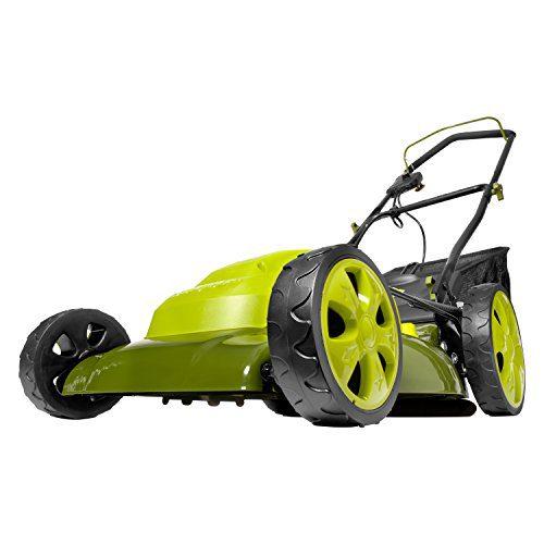 Sun Joe 20-Inch 12-Amp Electric Lawn Mower + Mulcher