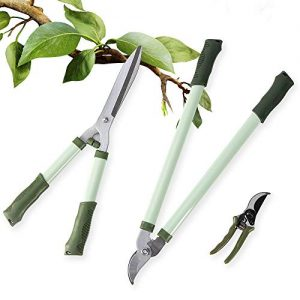 "LUCKUP 3 Piece Professional Garden Tool Set Includes 25""-Lopper"