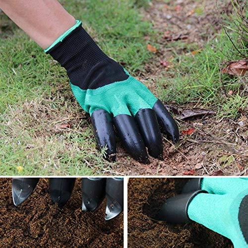 Dirt Auger Drill Bit Set Attachment, 2 PCS Garden Spiral Planting Hole Tulip